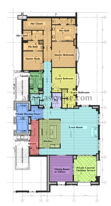 St regis residences buckhead luxury buckhead condos for 1010 midtown floor plans