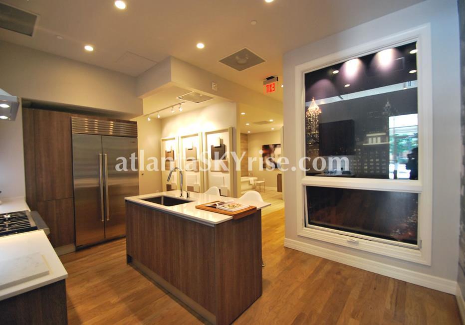 Seventh Midtown Atlanta Condo Kitchen
